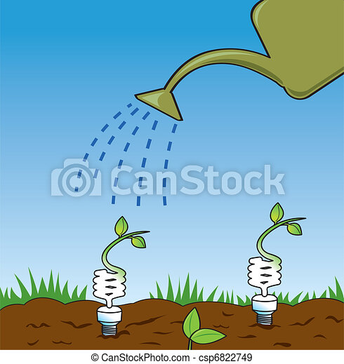 Growing Green Ideas - csp6822749