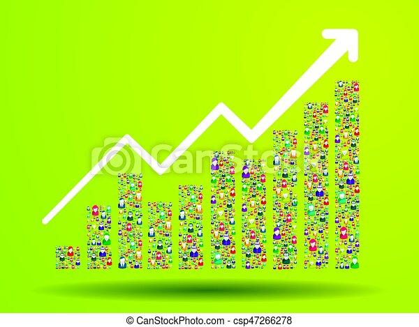 Growth chart - csp47266278