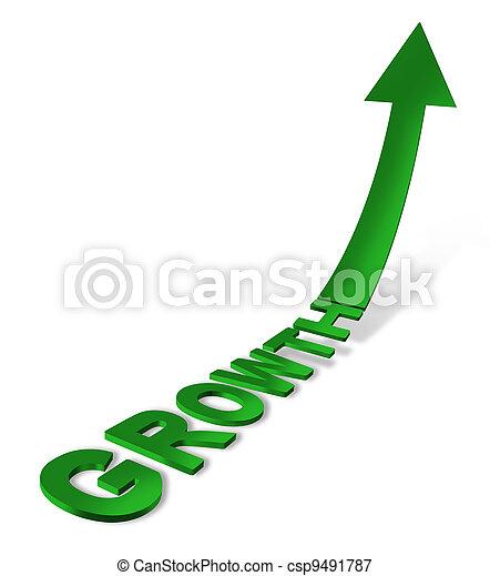 Growth Icon - csp9491787