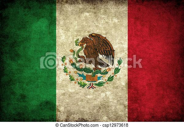 grudge Mexico flag - csp12973618