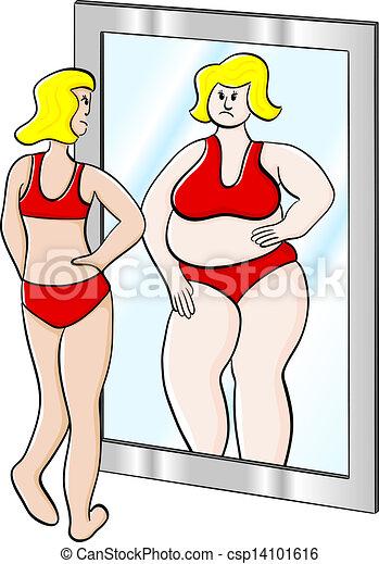 Mujer delgada y delgada - csp14101616