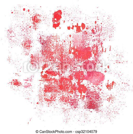 grunge, abstract, textuur, watercolor, plonsen, achtergrond - csp32104079