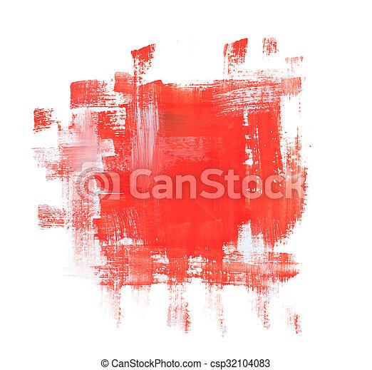 grunge, abstract, textuur, watercolor, plonsen, achtergrond - csp32104083