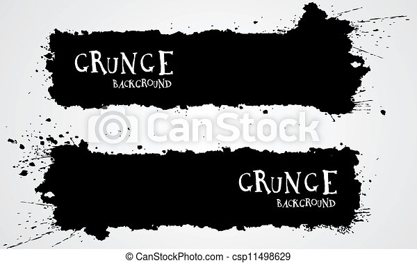 grunge, achtergronden - csp11498629
