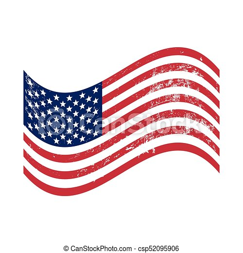 grunge american flag waving vector clipart search illustration rh canstockphoto ca free clip art waving american flag clipart us flag waving