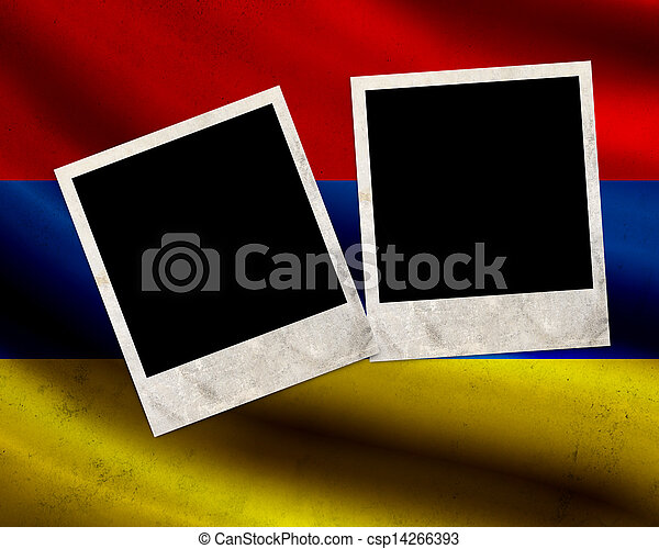 Grunge Armenia flag - csp14266393
