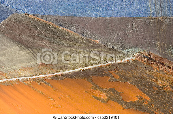 Grunge Background 26: Rusted Boat Hull - csp0219401