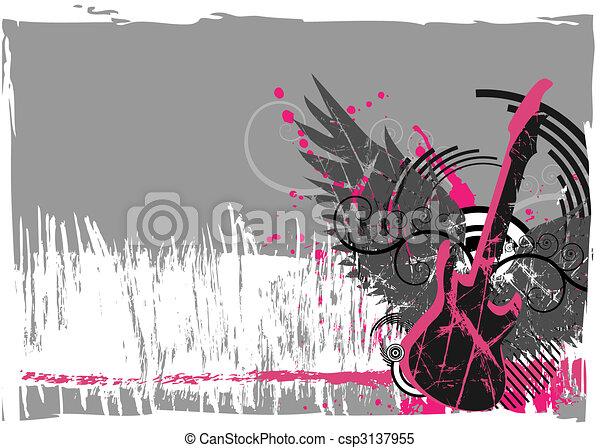 Grunge background - csp3137955