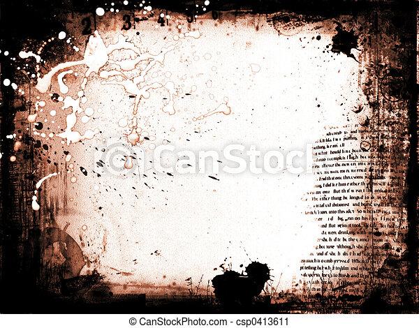 Grunge background - csp0413611