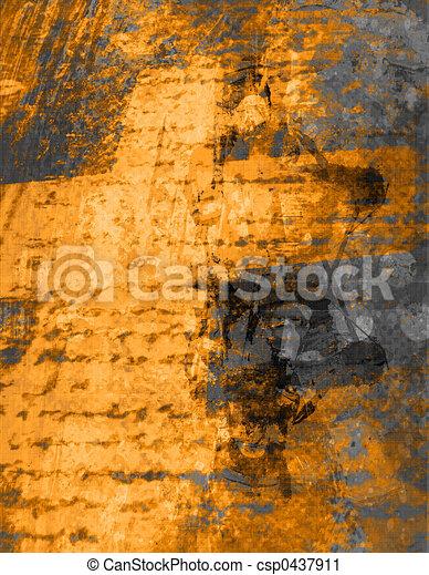 Grunge background - csp0437911