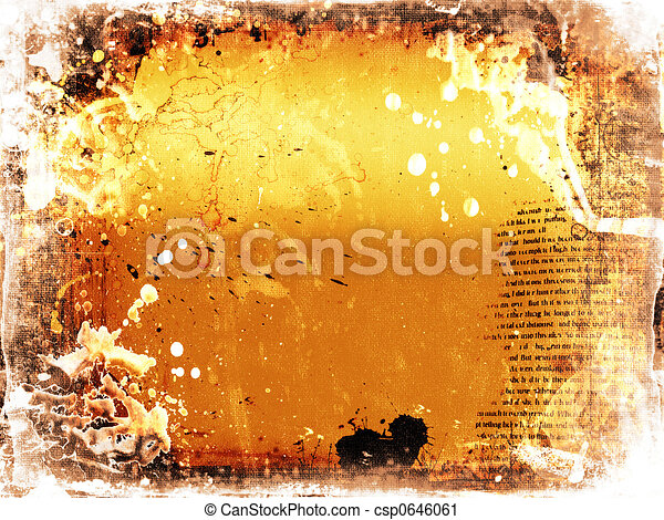 Grunge background - csp0646061