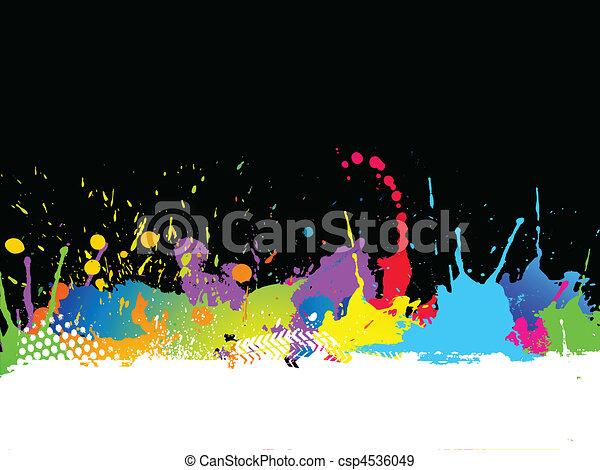 Grunge background - csp4536049