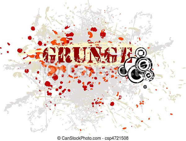 Grunge background - csp4721508