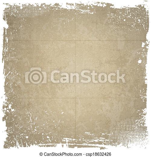 Grunge background - csp18632426