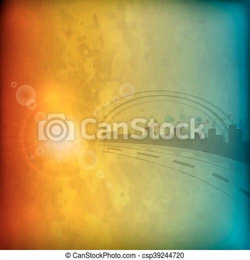 Grunge background - csp39244720