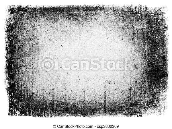 Grunge background isolated. - csp3800309