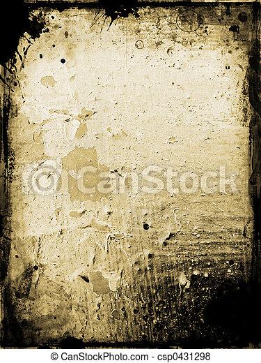 Grunge background - csp0431298