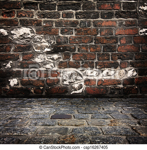 grunge background red brick wall texture bright plaster wall and