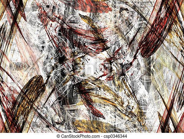 Grunge background - csp0346344