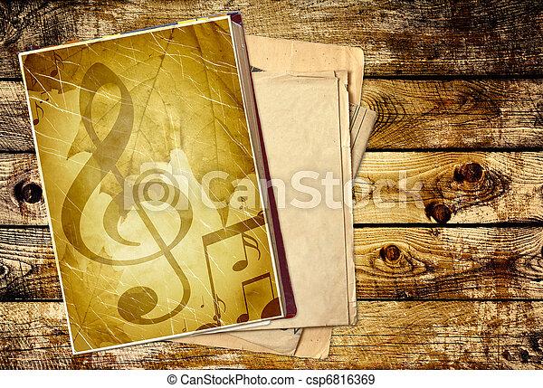 Grunge background - csp6816369