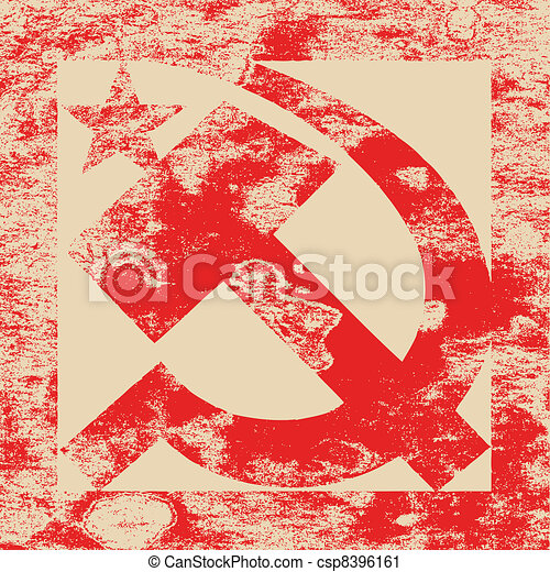 grunge background, vector illustration - csp8396161