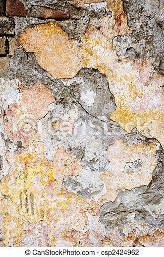 Grunge background wall - csp2424962