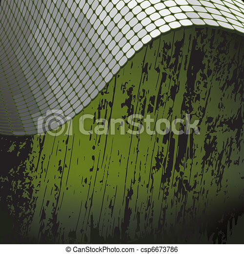 grunge background with metallic bo - csp6673786