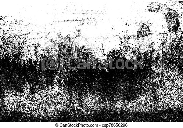 Grunge black and white abstract distress background or texture. - csp78650296