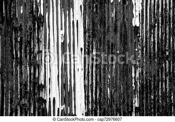 Grunge black and white abstract background or texture - csp72976607