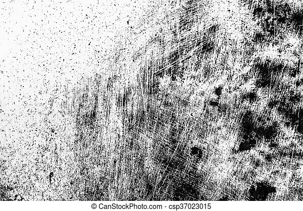 Grunge black and white distress texture . Scratch and texture or ackground - csp37023015