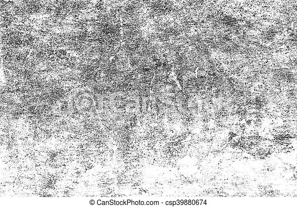 Grunge black and white distress texture . Scratch and texture or ackground - csp39880674