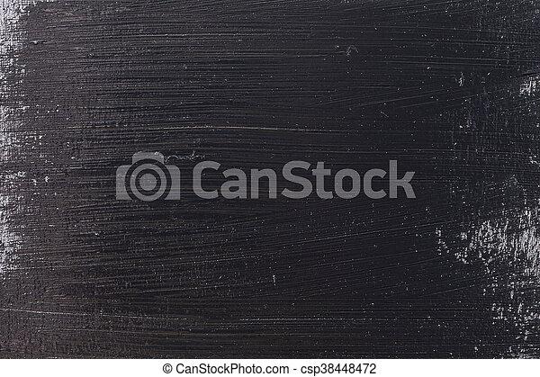 Grunge Black Concrete Old Texture Wall - csp38448472