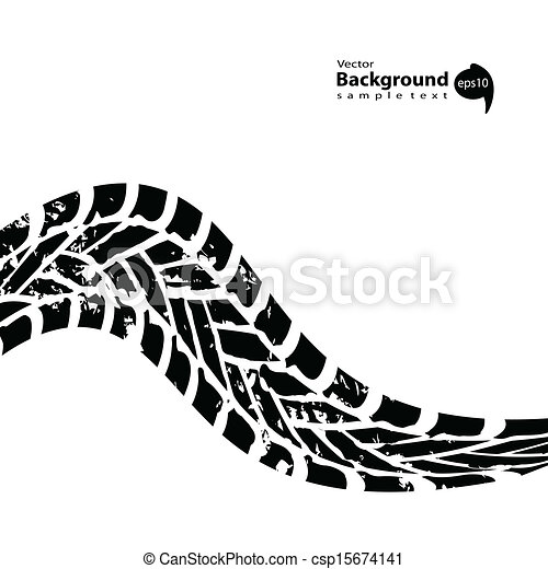 grunge black tire track on white background eps vector search clip rh canstockphoto co uk truck tire tracks clipart tire track clipart