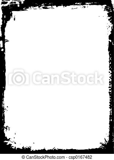 Grunge border - csp0167482