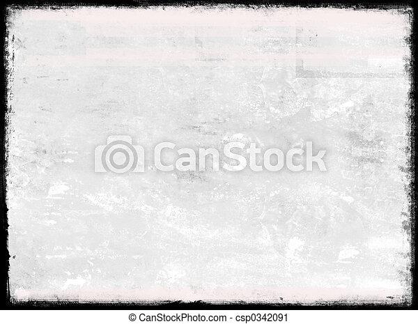 Grunge border - csp0342091