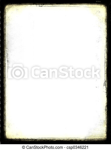 Grunge border - csp0346221
