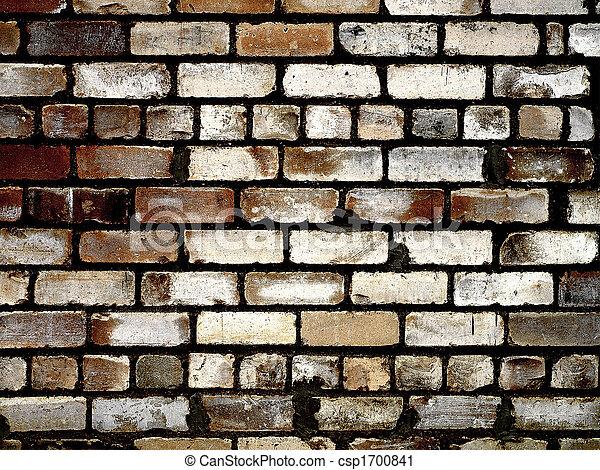Grunge brick wall texture - csp1700841