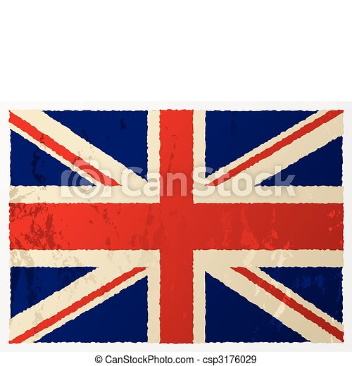 grunge british flag grunge british flag in red white and blue with rh canstockphoto com british flag border clip art british flag border clip art free