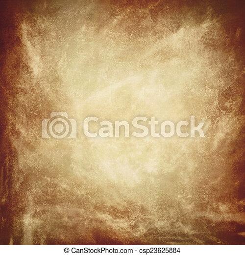 Grunge brown texture background - csp23625884