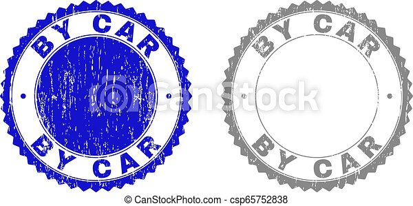 Grunge BY CAR Textured Stamps - csp65752838