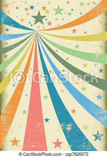 Grunge carnival - csp7826573