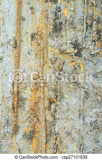 Grunge Cement or Concrete Wall Texture Background - csp27101639