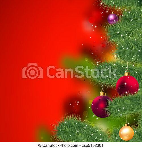 Grunge christmas background. EPS 8 - csp5152301