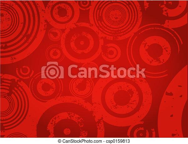 Grunge circles - csp0159813