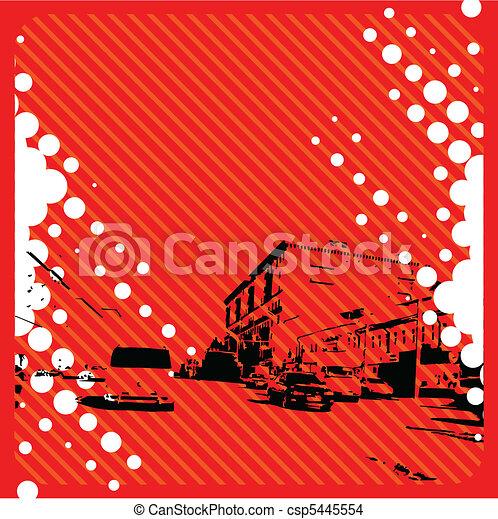 Grunge City - csp5445554