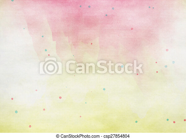 grunge, colorido, watercolor., textura, fondo., suave - csp27854804