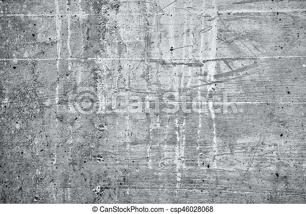 Grunge concrete background - csp46028068