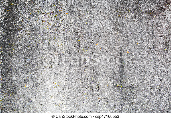 Grunge concrete cement wall - csp47160553