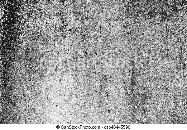 Grunge concrete cement wall - csp46445590