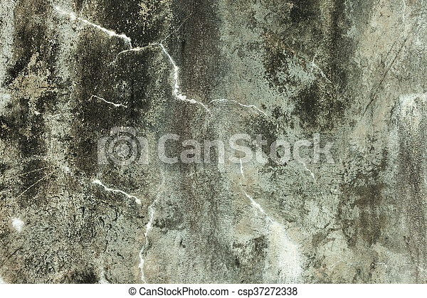 Grunge Concrete Old Texture Wall - csp37272338